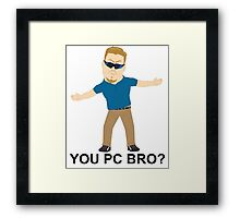 PC Principal (South Park) Framed Print