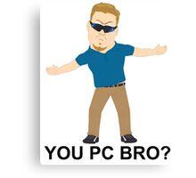 PC Principal (South Park) Canvas Print