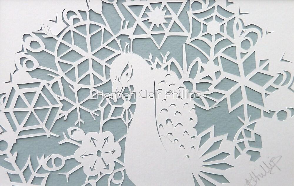 peacock blizzard  by Hannah Clair Phillips