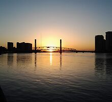 Sunrise on the River-Jax, Fl by usingfreetime