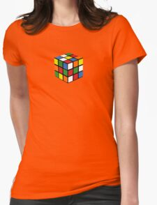 You Can Do The Cube Womens Fitted T-Shirt