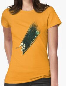 Cosmic Selfie Womens Fitted T-Shirt