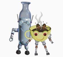 Cream & Coffee Valxart Fudebots  by Valxart