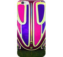 Very cool iPhone cover with psychodelic VW Beetle hood iPhone Case/Skin