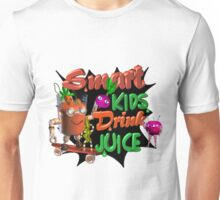 Smart Kids drink juice by Valxart  Unisex T-Shirt