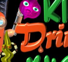 Smart Kids drink juice by Valxart  Sticker