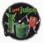 I Love Juice w/ celerybot by Valxart    by Valxart