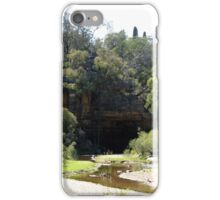 River Flats at Goulburn River,  The Drip NSW iPhone Case/Skin