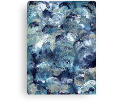 BLUE TORNADOS Canvas Print