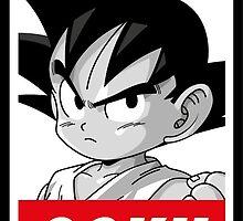 Sangoku , Dragon Ball , Obey , manga by Darris