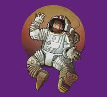 Man on Mars by locandia