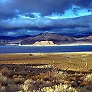 Pyramid Lake at Sundown by SB  Sullivan