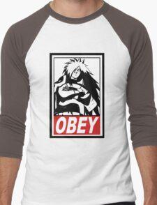OBEY Madara Uchiha  Men's Baseball ¾ T-Shirt