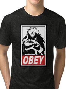 OBEY Madara Uchiha  Tri-blend T-Shirt