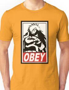 OBEY Madara Uchiha  Unisex T-Shirt