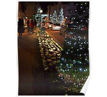 Le Touquet Christmas Lights - Boulevard Poster