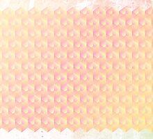 Grunge Pastel Cubes by Alex Eldridge