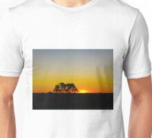 Tennant Creek sunset, Northern Territory, Australia Unisex T-Shirt
