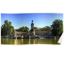 Monumento a Alfonso XII Poster
