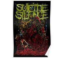 SUICIDE SILENCE DEMON GOAT Poster