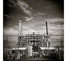 Power Mansion Photographic Print