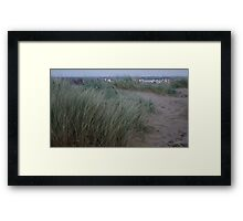 Early Morning at Camber Framed Print