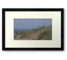 Camber Sands to Romney Marsh Power Fields Framed Print