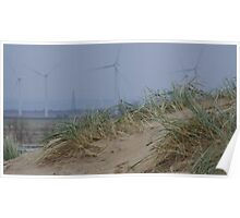 Camber Sands to Romney Marsh Power Fields Poster