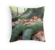 Mother's Roots Throw Pillow