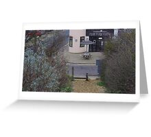Camber Sands - Rye Bay Cafe Greeting Card