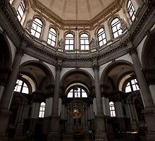 Santa Maria de la Salute Interior by beardyrob