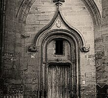 Abbey Door by timgraphics