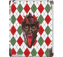 christmas krampus iPad Case/Skin