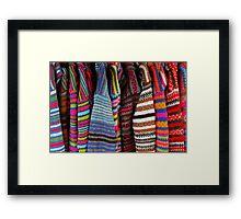 Aston's wardrobe Framed Print