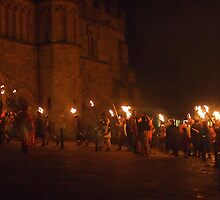 Battle Bonfire 2011 - Entering the Abbey Gates by seymourpics
