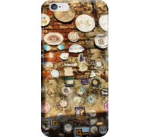 In an Old Wall-Durata, Italy iPhone Case/Skin