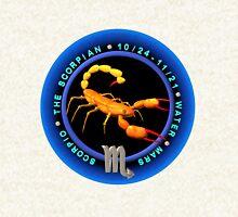 Scorpio zodiac astrology by Valxart Zipped Hoodie