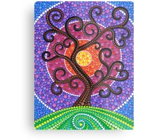 Spiralling Tree of Life Metal Print