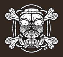 Tiki Skull  by ZugArt