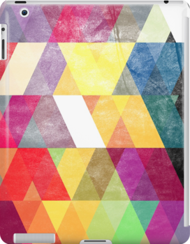 Abstract Slanted Triangles by Alex Eldridge