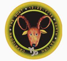 Capricorn Zodiac Astrology by Valxart Kids Clothes