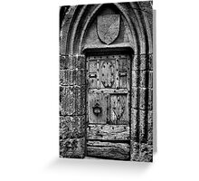 The Door at Conque Greeting Card