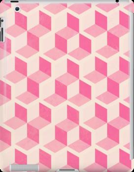 Cute Pink Blocks by Alex Eldridge