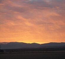 Sunrise - Unity, Oregon by BurntRiverM