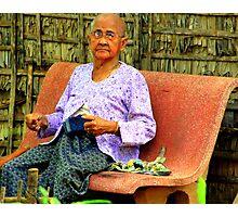 Cambodian Elder Photographic Print
