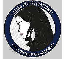 Jones' Alias Investigations Photographic Print