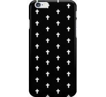 Crosses (Black) iPhone Case/Skin
