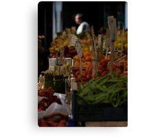 Rialto Fruit + Veg Market 1 Canvas Print