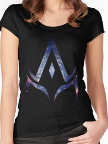alpha is your master. Women's Fitted Scoop T-Shirt