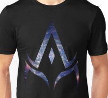 alpha is your master. Unisex T-Shirt